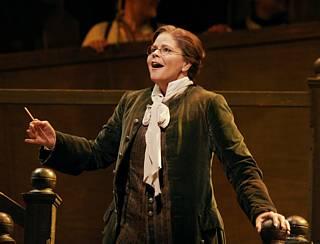 Susan Graham (le Compositeur) © Marty Sohl / Metropolitan Opera