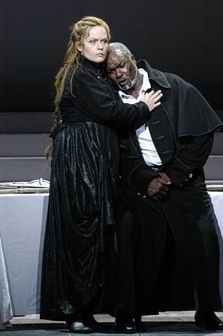 Eva Johansson (Brünnhilde) et Willard White (Wotan) / © E. Carecchio